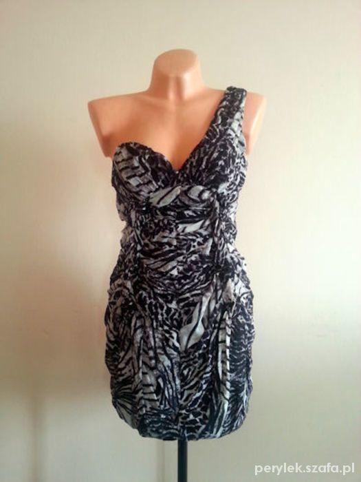 355ddf7b81 SYLWESTER SUKIENKA HM BY NIGHT MINI GORSETOWA w Suknie i sukienki ...