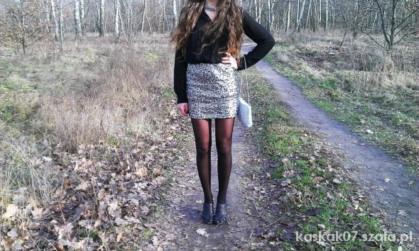 Blogerek Sequin skirt