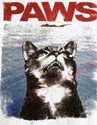 Zabawny tshirt kot mysz paws jaws...