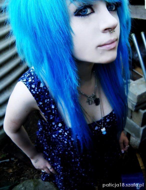 Kolorowe Emo Włosy W Fryzury Szafapl