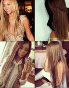Proste włosy...