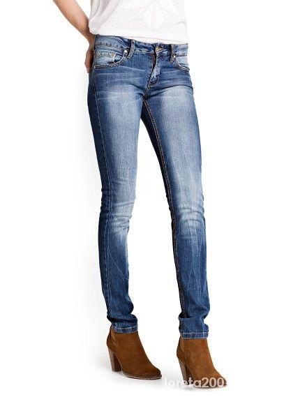 spodnie jeansowe MANGO super slim...