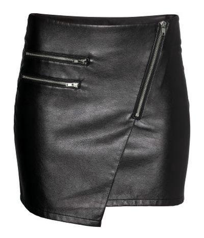 Spódnice spódniczka motocyklowa skórzana zipy