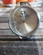 Srebrny Zegarek Calvin Klein Ck
