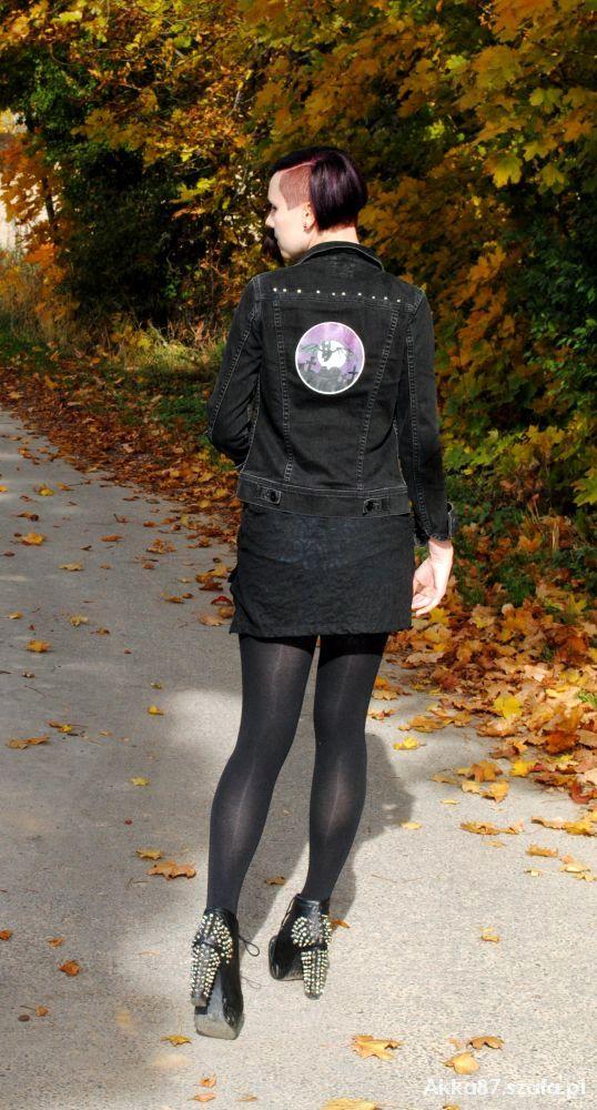 Mój styl Rockowo jesiennie