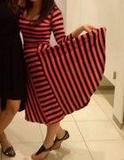 sukienka carry xs s pasiak paski...