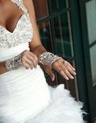 rękawiczki na ślub