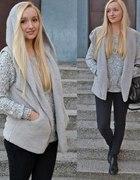 cozy grey...