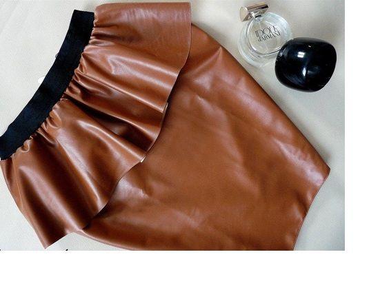Spódnice ruda spodnica baskinka