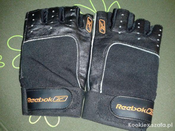 Pozostałe Rękawiczki na rower lub siłownię Reebok