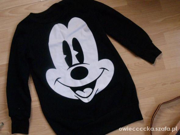 Bluzy bluza tunika Myszka Miki S M czarna