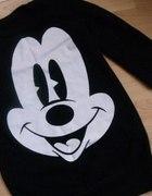 bluza tunika Myszka Miki S M czarna