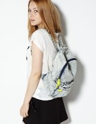 SinSay marmurkowy plecak tornister torba...