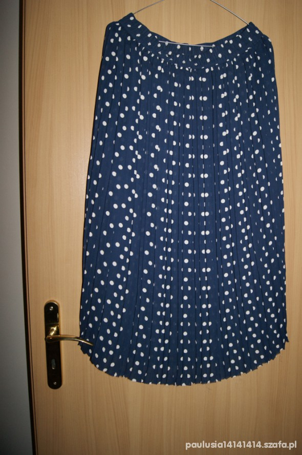 Spódnice spódnica maxi kropki
