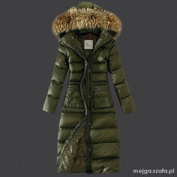 Moncler Fur zielone