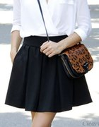mini Zara rozkloszowana kieszenie XS...
