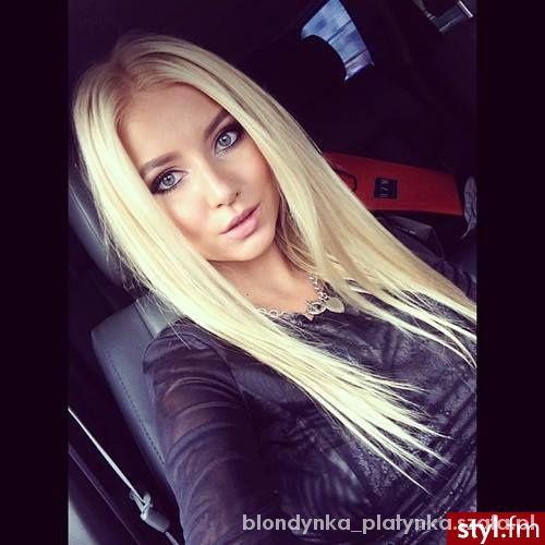 Blondynka w Fryzury - Szafa.pl