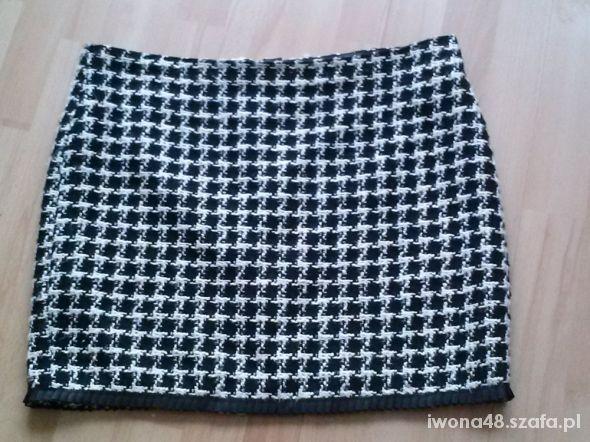 Spódnice elegancka spódnica pepitka