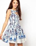 porcelanowa sukienka primark