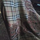 Ogromna chusta Burberrys