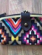 Portfel kopertowka bershka aztec