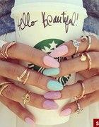 pretty nails starbucks