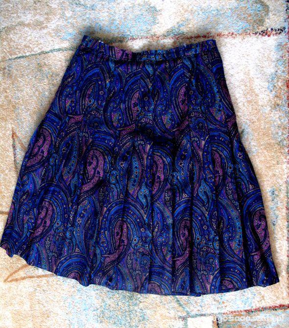 Spódnice Kolorowa Spódnica L