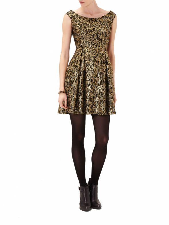 sukienka reserved 2013 zima
