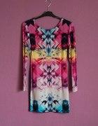 Sukienka mini aztec M