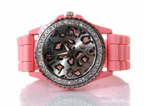 Zegarek z motywem panterkowym Geneva