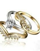 zestaw trzech pierścionków Maddison od Avon