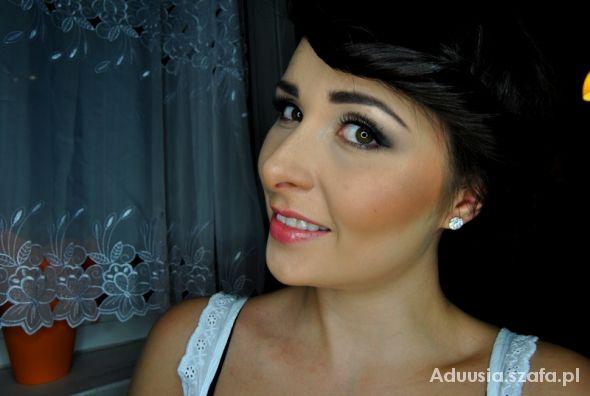 Blogerek moja propozycja makijażu ślubnego