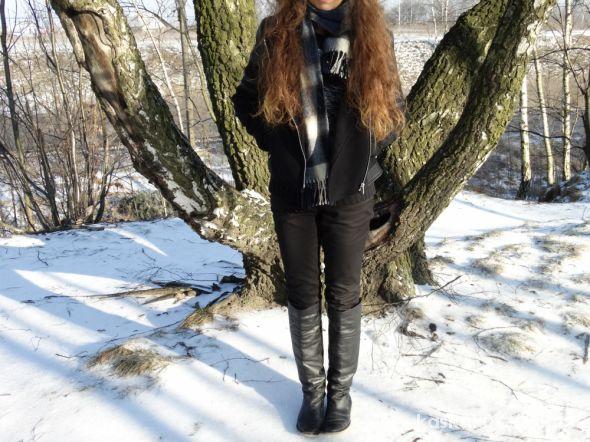 Blogerek Czarna kurteczka Zara