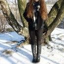 Czarna kurteczka Zara