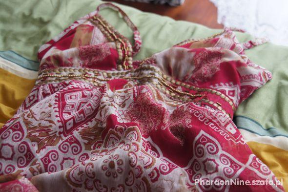 Gypsy maxi dress szyfonowa sukienka firmy Apricot