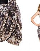 Spódniczka H&M panterka cętki...