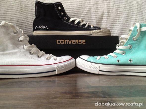 Converse wysokie czarne ORYGINALNE w Trampki Szafa.pl