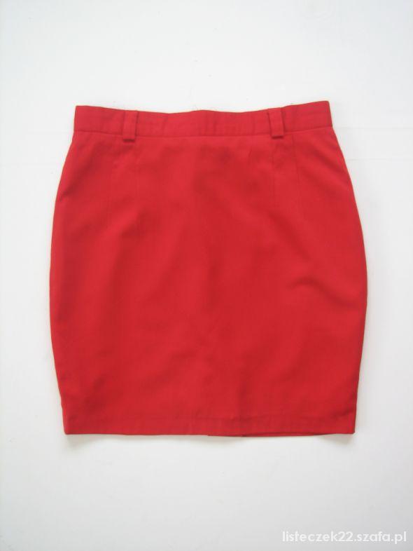 Spódnice czerwona spódnica mini