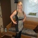 Sukienka z motywem panterki