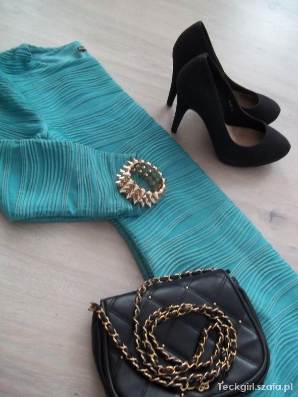 Mój styl Zestaw z sukienką
