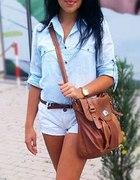 Błękitna koszula kappahl