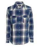 Koszula H&M niebieska krata...
