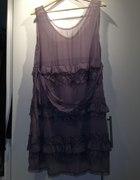 Sisley sukienka koronkowa...
