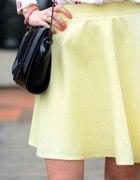 mohito żółta tłoczona spódnica
