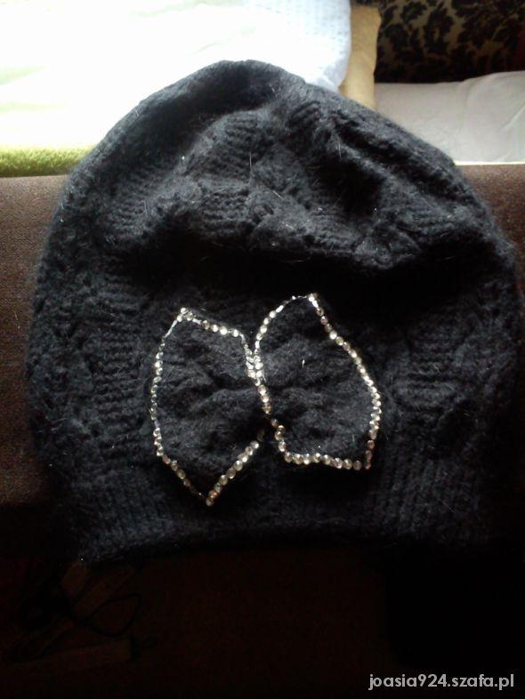 czapka z kokardą WYSYŁKA GRATIS