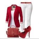 Biało czerwony zestaw