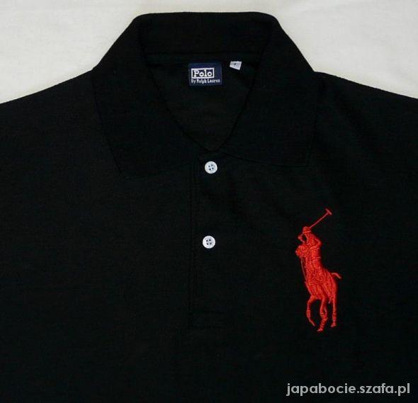 3b9074f750c5 Czarna koszulka polo Ralph Lauren L w Koszulki - Szafa.pl