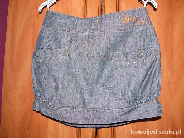 Spódnice spódniczka bombka jeans