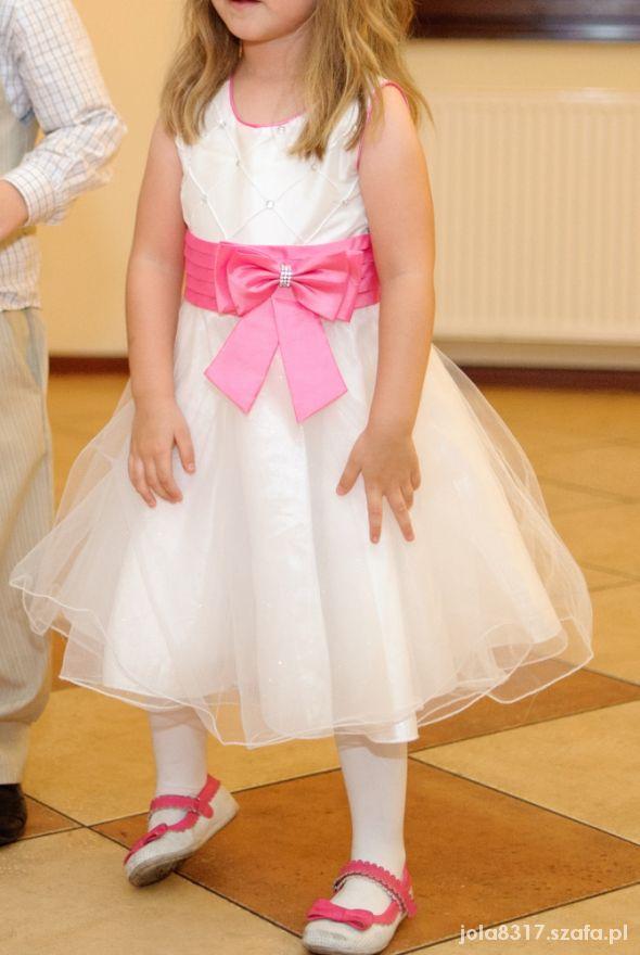 fe4f96d0e4 Piękna sukienka dla ksiezniczki 110 w Sukienki i spódniczki - Szafa.pl