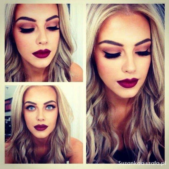 Fryzury beautiful makeup